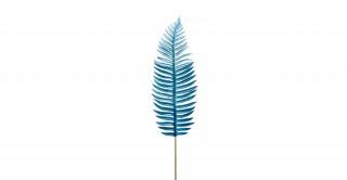 Fern Leaf Light Blue 97Cm