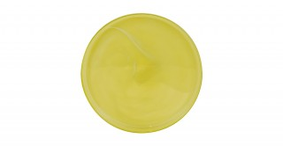 Alabaster  Serving Plate Yellow 21 cm