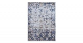 Crotone Cotton Rug Blue 170 x 240 cm