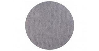 Cozy Shaggy Round Rug Silver 160Cm