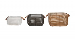 Classic Rectangle Baskets Set Of 3