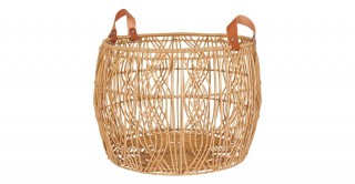 Wave Round Basket (Set Of 2)