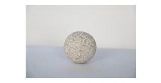 Yara Decore Ball 10.5 cm White