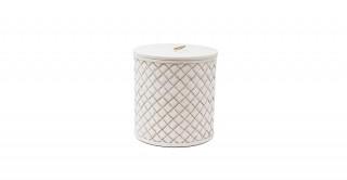 Yasi Decore Box 17.5 cm White