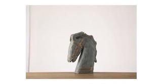 Yna Horse Sculpture 44 cm Gold