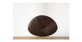 Yna Wall Sculpture 51 cm Brown