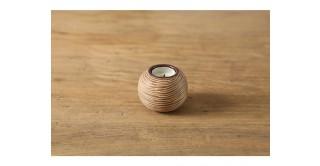 Yori Candle Holder 11 cm Brown