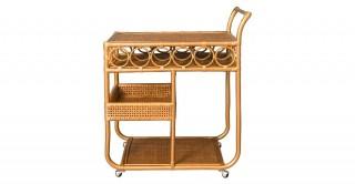 Vintage Bar Trolley. Gold