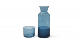 Ricco Carafe With Lid Blue 700ml