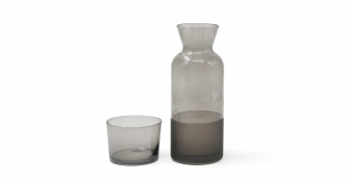 Ricco Caraffe With Lid Grey 700ml