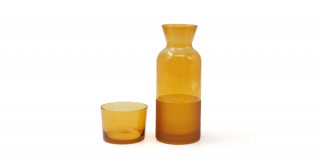 Ricco Caraffe With Lid Amber 700ml