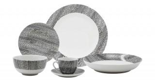 Steeling  Dinnerware Set Of 36