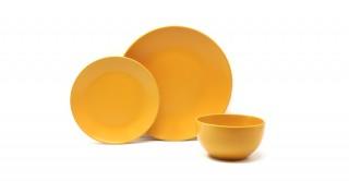 Elora Stoneware Dinner Set 18Pc