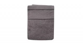 Roya Grey Face Towel 30 x 50 cm