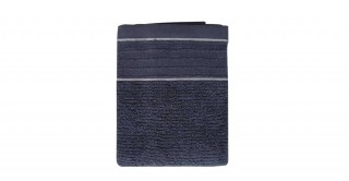 Roya Anthracite Bath Towel 70 x 140 cm