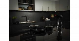 Duo Black 9 Pcs Cookware Set