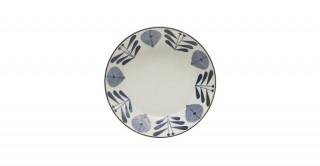 Shallow Porcelain Bowl