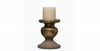 """Terracotta Pillar Candleholder (Holds 5"""" Pillar Candle)"""