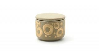 Yaj Decorative Box Beige 10.5 cm
