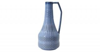 Villa Vase Blue 15 cm