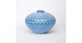 Villa Vase Blue 42.5 cm