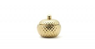 Viny Decorative Box Gold 11 cm