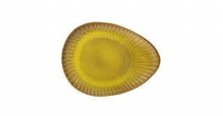 Cala Yellow Plate 34 cm