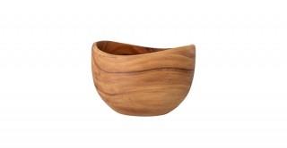 Bowl Acacia, Brown 25 cm
