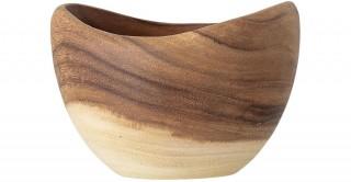 Bowl Acacia, Brown 18 cm