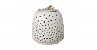 Lantern, White, Stoneware