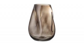 Vase Glass, Brown
