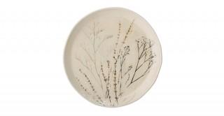 Rio Plate Stoneware, Brown 22 cm