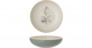 Rio Soup Plate,Green 21.5 cm