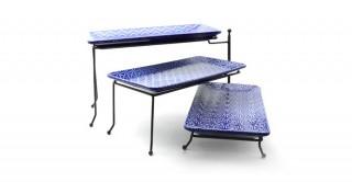 Ceola 3Pcs Movable Tray 36 cm