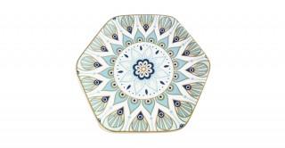 Fenix 6Pcs Sweet Plate Silver