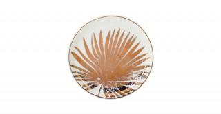 Fleur 6Pcs Sweet Plate White