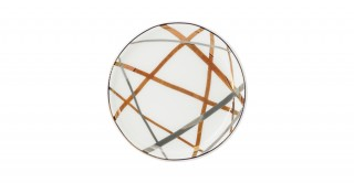 Florence 6Pcs Sweet Plate Gold