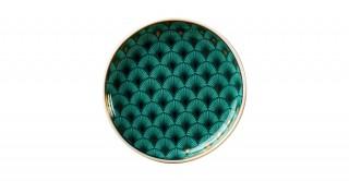 Frida 6Pcs Sweet Plate Green