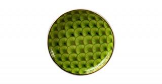 Frida 6Pcs Sweet Plate Light Green