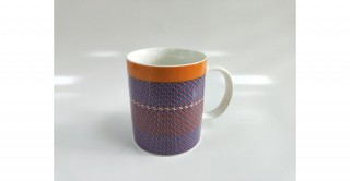 Foam Mug 14Oz Burgandy