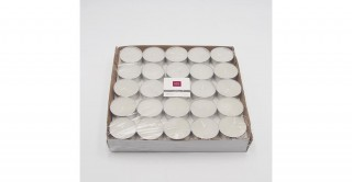 Diya Tealight Candle White Set of 50