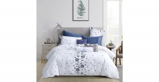 Floral Cotton Comforter Set  260 x 270 cm