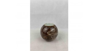 Mia Candle Holders Brown 10.5 cm