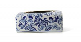 Midori Tissue Box  Blue 25 cm