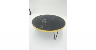 Casom Footed Tray Black 30 cm