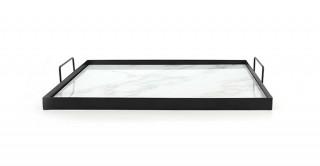 Casom Decorative Tray White 40 cm