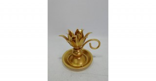 Ceres Candle Holders Gold 11.5 cm