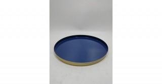 Charvi Decorative Tray Blue 31 cm