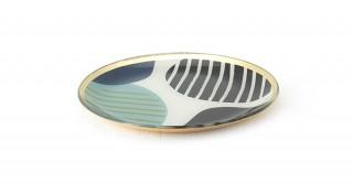 Cheri Decorative Tray Blue 20 cm