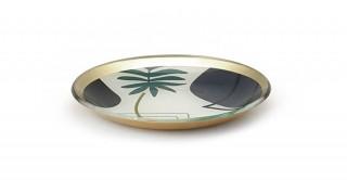 Cheri Decorative Tray Green 15 cm